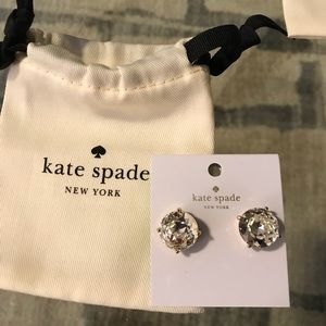 Kate Spade Large Gumdrop Studs! Brand New!